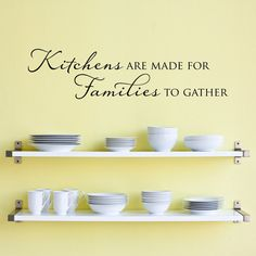 Kitchens are made for Families to gather Decal by StephenEdwardGraphic