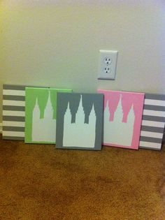 LDS Temple Art :) Obsessed! Making them like crazy I feel!