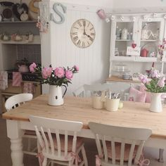 Shabby Chic Dining Room Archives - Modern Dining