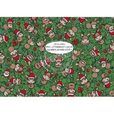Carte Lali Joyeux Noël! Après la Tournée des cadeaux...