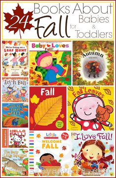 Children& Books About Fall: 24 beautiful, colorful books for babies, toddlers and little kids. Childrens Books About Fall: 24 beautiful, colorful books for babies, toddlers and little kids. Fun Fall Activities, Infant Activities, Preschool Activities, Activities For Kids, Educational Activities, Toddler Books, Childrens Books, Toddler Storytime, Fallen Book