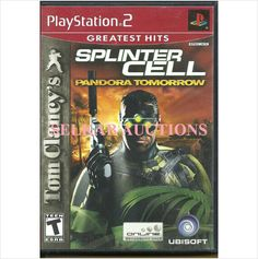 Tom Clancy's Splinter Cell Pandora Tomorrow Play Station 2 Video Game disc PS2 008888321606 on eBid Canada
