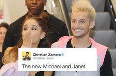 """I Tweeted That Ariana And Frankie Grande Were """"The New Michael And Janet"""" And People Freaked The Fuck Out"""