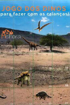 como fazer jogo dinossauros