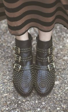 Glam and Graffiti - Steve Madden booties