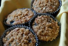 Blueberry Muffins - Sweet Ali's Gluten Free Bakery - Hinsdale, IL. www.sweetalis.com