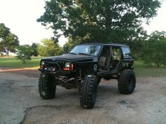 Blacked Out Jeep Cherokee