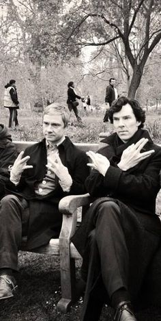 Swaglock Holmes and Dr. John Thugson.