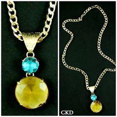 CKD PEDRAS E FOLHEADOS: Bom dia!! Apaixonadas por este colar da nova coleç...