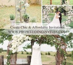 2021 Decor Trends: DIY Ideas for Rustic Wedding Arch Rustic Arbor, Wedding Arch Rustic, Ruffles Bridesmaid Dresses, Wedding Dresses, Wedding Stuff, Wedding Day, Seasonal Flowers, Wedding Themes, Personalized Wedding