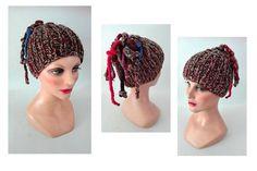 bonnet femme, bonnet enfant, laine, hiver, chapeau, tricot , accessoires cheveux hiver, bonnet tricoté main de la boutique mademoisellebis sur Etsy