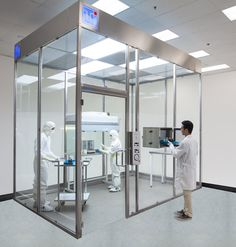 Cleanroom Frp Wall Panel System Factory Design Systems Federal Open Plan