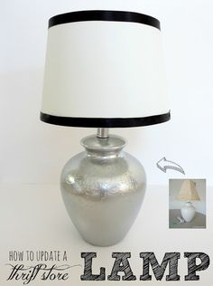 10 Spray Paint Tips: what you never knew about spray paint (like how to spray paint a lamp!). Good to know! Check this out!
