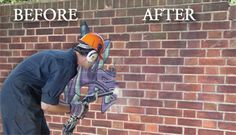 "Graffiti Removal Service  Unfortunately, graffiti is a problem everywhere and can often leave your property with a black eye in the form of visual pollution.  It can damage your image by creating an ""unsafe"" or ""un-secure"" feeling in the eyes of visitors to your facility, shopping center or business.  The good news is we can help restore graffiti marked areas to their original condition through specially designed removal agents, paints or coatings that can even make for an easy clean-up in…"
