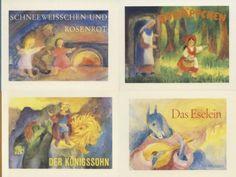 Aktion «Märchenbücher»: Das Eselein, Der Königssohn, Rotkäppchen, Schneeweißchen und Rosenrot von Lilly Gross-Anderegg http://www.amazon.de/dp/3859890697/ref=cm_sw_r_pi_dp_JSlJub1ET3D8S