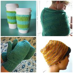 Start with Craftsy designer patterns using basic knit and purl stitches, then modify them with more complex stitches and interesting textures.