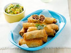 These crispy rolls make for the perfect on-the-go snack.
