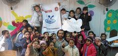 Im Libanon hat unser Bündnismitglied Johanniter 1800 Winterjacken an Grundschüler aus Syrien verteilt.