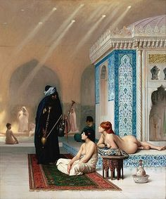 Jean-Leon Gerome The Harem Bath painting for sale, this painting is available as handmade reproduction. Shop for Jean-Leon Gerome The Harem Bath painting and frame at a discount of off. Jean Leon, John William Godward, Hermitage Museum, Hermitage Russia, Academic Art, Cultural, Arabian Nights, Renoir, Art Plastique