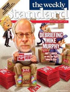 Magazine Cover: The Weekly Standard, March 29 - April 4, 2016 - Mike Murphy