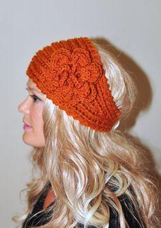 Crochet headband Earwarmer Headwrap Ear warmer Crochet by lucymir, $27.99