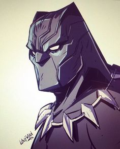 the art of derek laufman Black Panther Marvel, Black Panther Storm, Black Panther Party, Marvel Heroes, Marvel Dc Comics, Marvel Room, Character Drawing, Comic Character, Comic Books Art