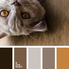 бежевый, коричневый цвет с оттенком серого, монохромная коричневая палитра, монохромная цветовая палитра, оттенки коричневого, подбор цвета, рыже-коричневый, светло-коричневый, серо-коричневый, темно серо-коричневый цвет, темно-коричневый.2