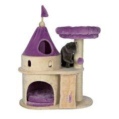 castillito para gato, aquí duerme, juega y trepa.