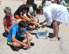 Assembling the pop-propulsion experiment at MCC Tech Camp, Week of June 22-25, 2015 - Science Myth Busters: An Explosive Quest for Truth! (entering grades 5–9)