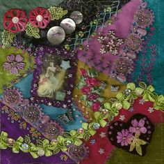 Something from Nothing: crazy quilt