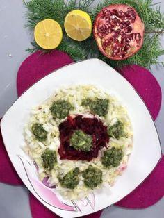 Kivi Soslu Çin Marulu Salatası Tarifi Salad, Chicken, Meat, Food, Bulgur, Eten, Salads, Meals, Cubs