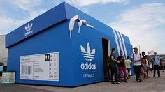 Nova loja ADIDAS | wowcreativeart