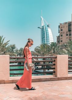 strolling around the city #burjalarab