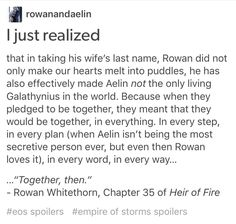 Every girl needs a rowan in their lives- unconditional unending love