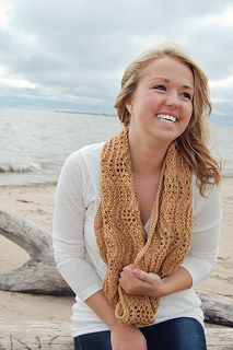 Cannon Beach Infinity Scarf by Irish Girlie Knits