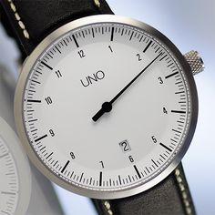 UNO Automatic one-hand watch | Botta Design