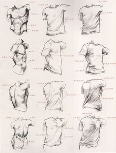 Teach you how to use drapery to the performance of the human body structure - Animation teach ...