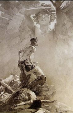 Le Pater, Alphonse Mucha (1899)