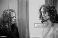 ~ News Photo: Guitarist Paul Kossoff and singer Paul Rodgers of…