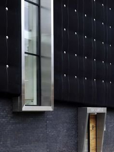 A building clad in black rubber may sound ominous but in this instance, it's a testament to modern design. The Soundhouse by Jefferson Sheard Architects and