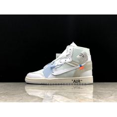 classic fit 0e8b2 9dd98 Best OFF White X Nike Air Jordan 1 OW White Shoes Online