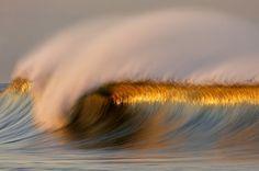Slow shutter speed.... looks like an oil painting, tidal wave, ocean, waves,