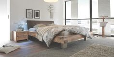 Oak-Vintage Decor, Furniture, Wallpaper, Authentic Living, Home Decor, Bed, Oak, Vintage
