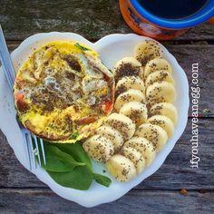 Mushroom Lover's Egg Mug - 3 Weight Watchers Points Plus