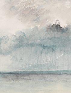J. M. W. Turner blue
