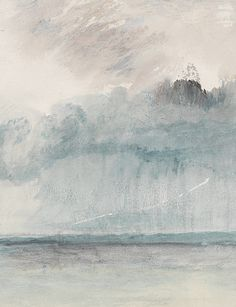 arsantiquis:A Paddle-steamer in a Storm (detail) J. M. W. Turner