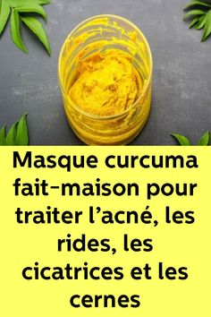 Masque curcuma fait-maison pour traiter l'acné, les rides, les cicatrices et les cernes Weight Loss Eating Plan, Weight Loss Help, Lose Weight, Get Skinny Fast, Weight Loss Journal, Les Rides, Face Massage, Hair Serum, Face Skin Care