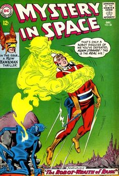 carmine infantino adam strange | Cover for Mystery in Space #88 (1963)