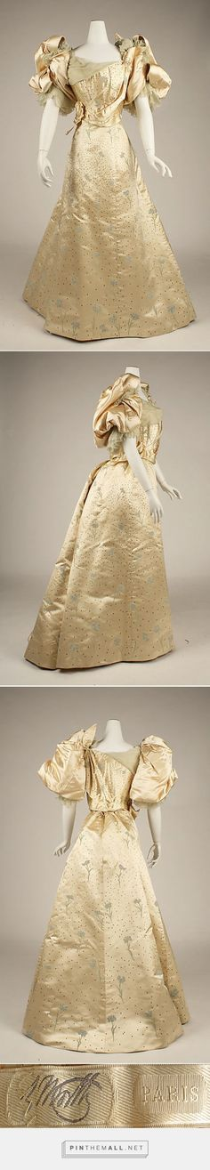 Ball gown by House of Worth 1893-94 French | The Metropolitan Museum of Art
