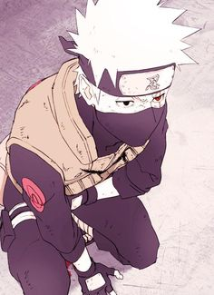 "Naruto Challenge Day 01: Favourite Male Character - Kakashi Hatake <3. My 2D crush! He is just way too perfect ""3"